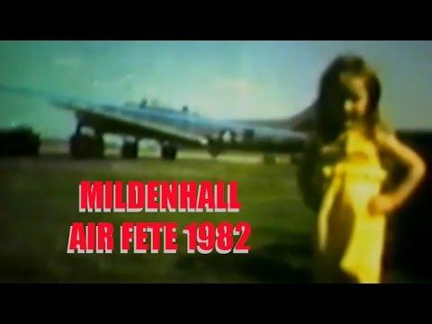 CRHnews - RAF Mildenhall  Air Fete 1982 in glorious 8mm