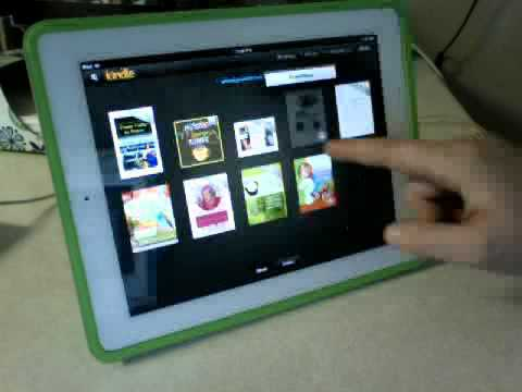 How to Use your Kindle app