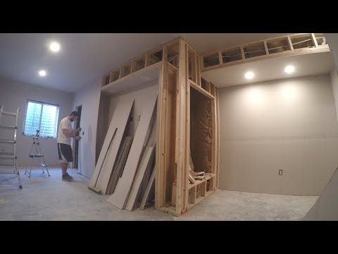 Basement Finishing - Time Lapse