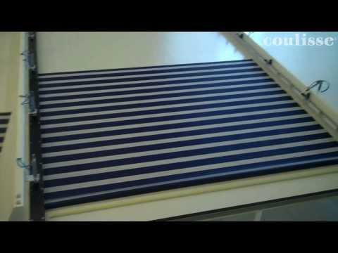 Coulisse - How to cut double roller fabric