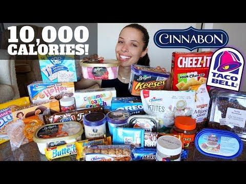 10,000 CALORIE CHALLENGE (easy!)