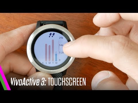 VivoActive 3 Review - Touchscreen, SideSwipe, Software + Interface TUTORIAL (EP2)