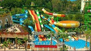 Aquapark Crystal Sunset Luxury Resort Spa Side Turkey