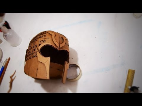 #60: X-Men Magneto Helmet Part 1 - Cardboard (template) | How To