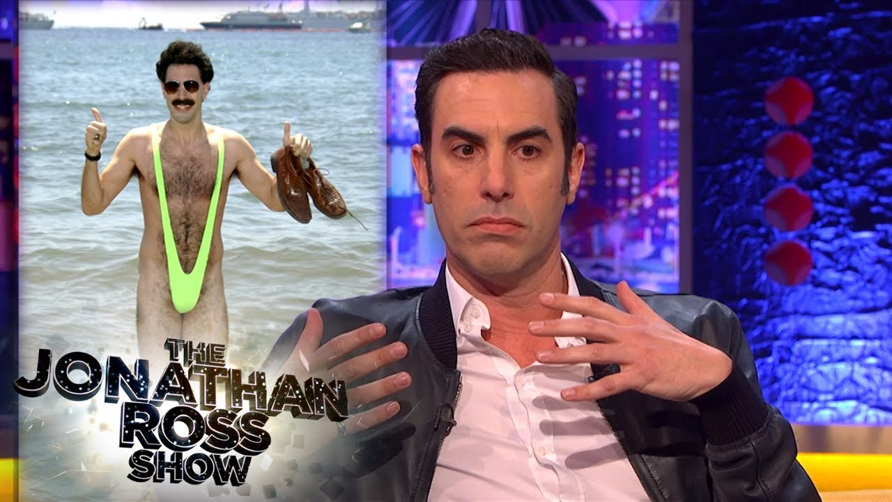 Sacha Baron Cohen Relives Times He Went Too Far   The Jonathan Ross Show