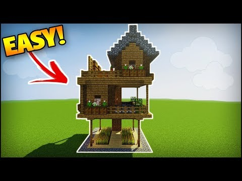 Minecraft: How to Build a 2 Player Survival House - Easy Tutorial