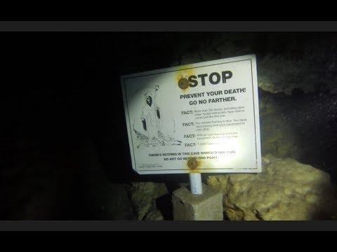 Cave Diving in the Devils Den