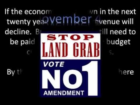 STOP LAND GRAB - VOTE NO AMENDMENT 1 - Florida