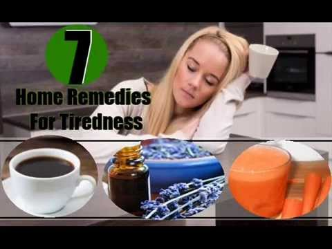 7 Home Remedies For Tiredness