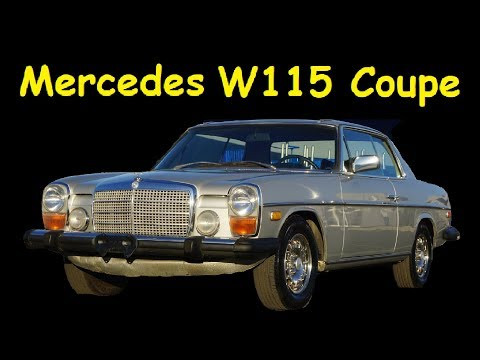MERCEDES BENZ 280C 250C W114 / W115 CHASSIS FOR SALE
