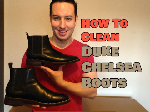 Thursday Boot | Duke Black Chelsea Boots | How To Clean & Maintain