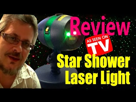 Star Shower Motion Laser Light Review