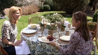 At Home in the Hamptons with Aerin Lauder