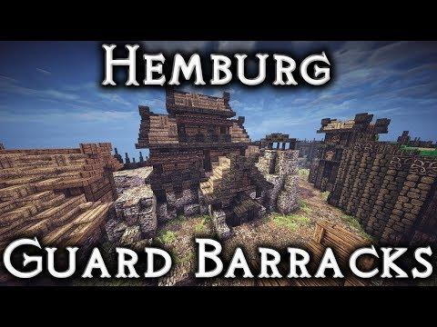 Minecraft: Hemburg - Ep26 Guard Barracks Interior Part 3 (Live Stream)