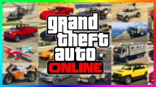 ROCKSTAR MADE SECRET CHANGES TO ALL OF THESE VEHICLES IN GTA ONLINE! (GTA 5 DLC)