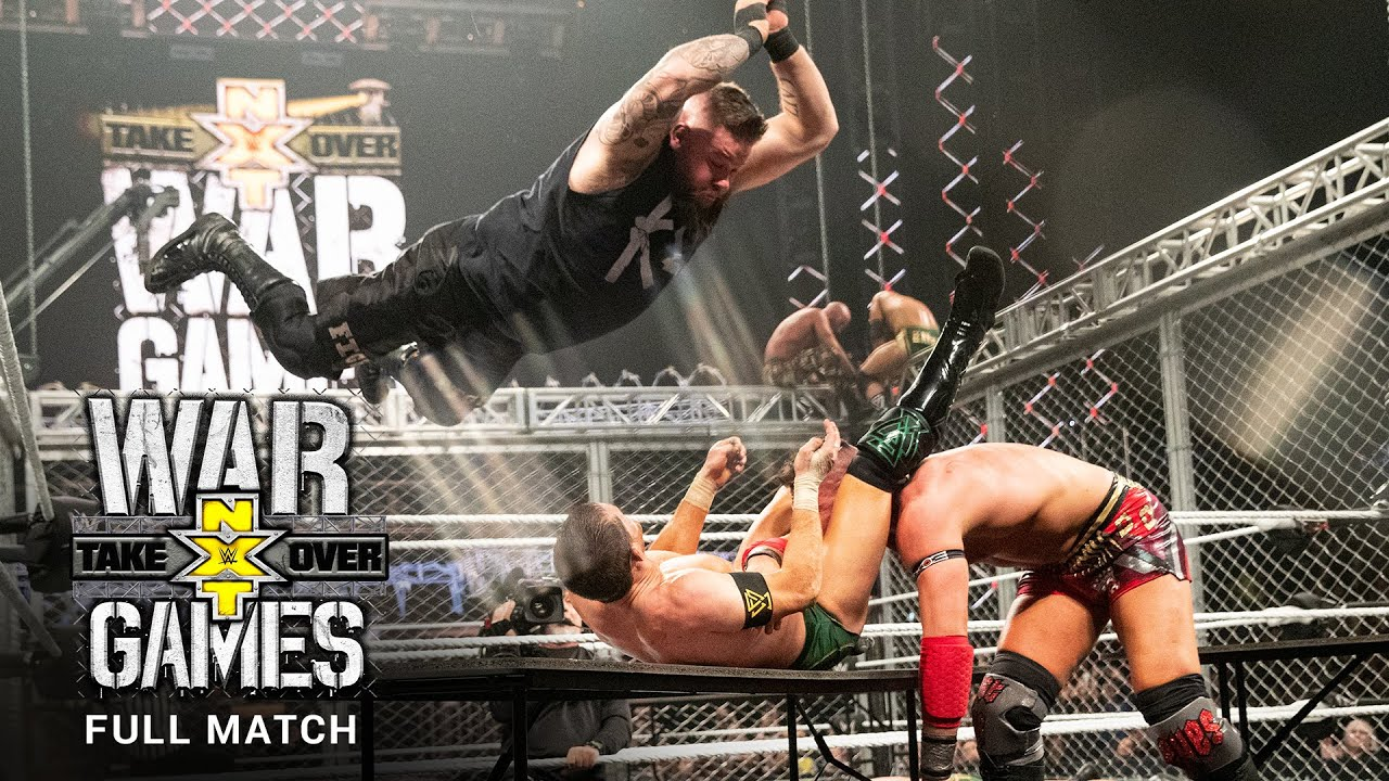 FULL MATCH - Team Ciampa vs. The Undisputed ERA – WarGames Match: NXT TakeOver: WarGames 2019