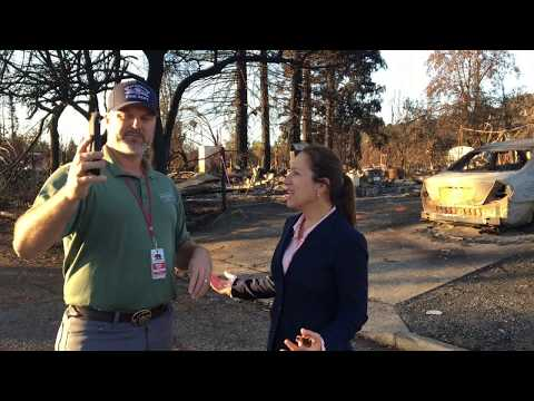 Eleni Kounalakis Visits Santa Rosa After Devastating Wildfires
