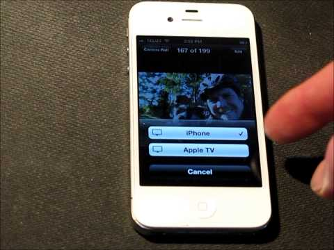 How to stream Video, Photos, and Music from your iPhone to your Apple TV.