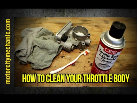 How to clean your throttle body