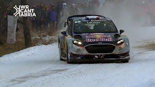 WRC Rally Montecarlo 2017 | Maximum attack & close calls