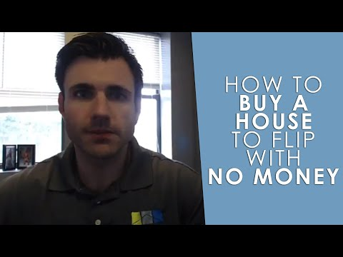 How To Buy a House To Flip With No Money