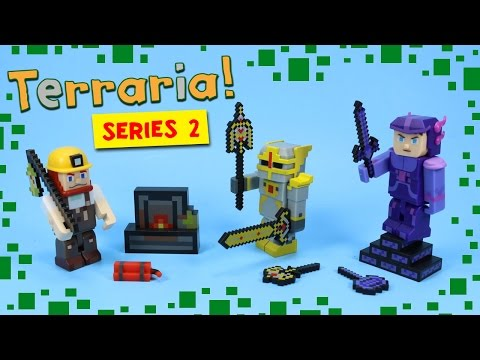 Terraria Series 2 Toys Hallowed Shadow Armor Demolitionist Figures Jazwares