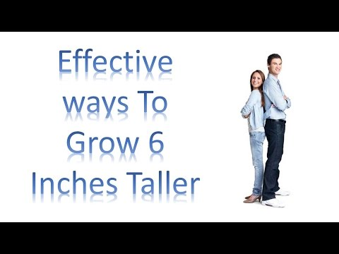 how to grow 6 inches taller in 1 month