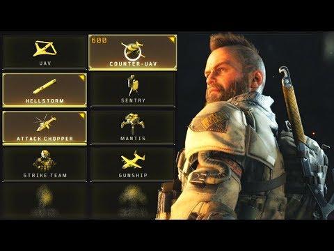 Black Ops 4: Scorestreaks, Body Armor, & Equipment!