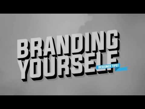 Designer Tips: Branding Yourself as a Designer!