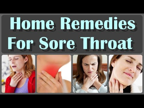 How to Cure a Sore Throat And How To Fix a Sore Throat Naturally Within 1 Minute Without Pills