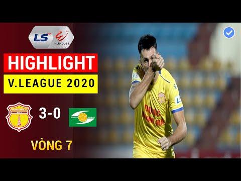 Higlight DNH Nam Định - SLNA | Thi Đấu Thăng Hoa Đỗ Merlo Hủy Diệt SNLA | 360 Sports