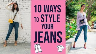 10 Different Ways to Wear 1 JEANS | Sejal Kumar