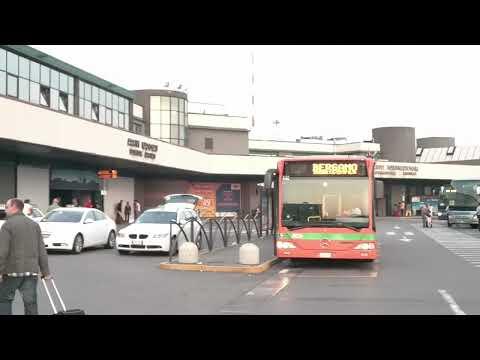 Bergamo Orio al Serio Airport Bus to Milan Stazione Centrale