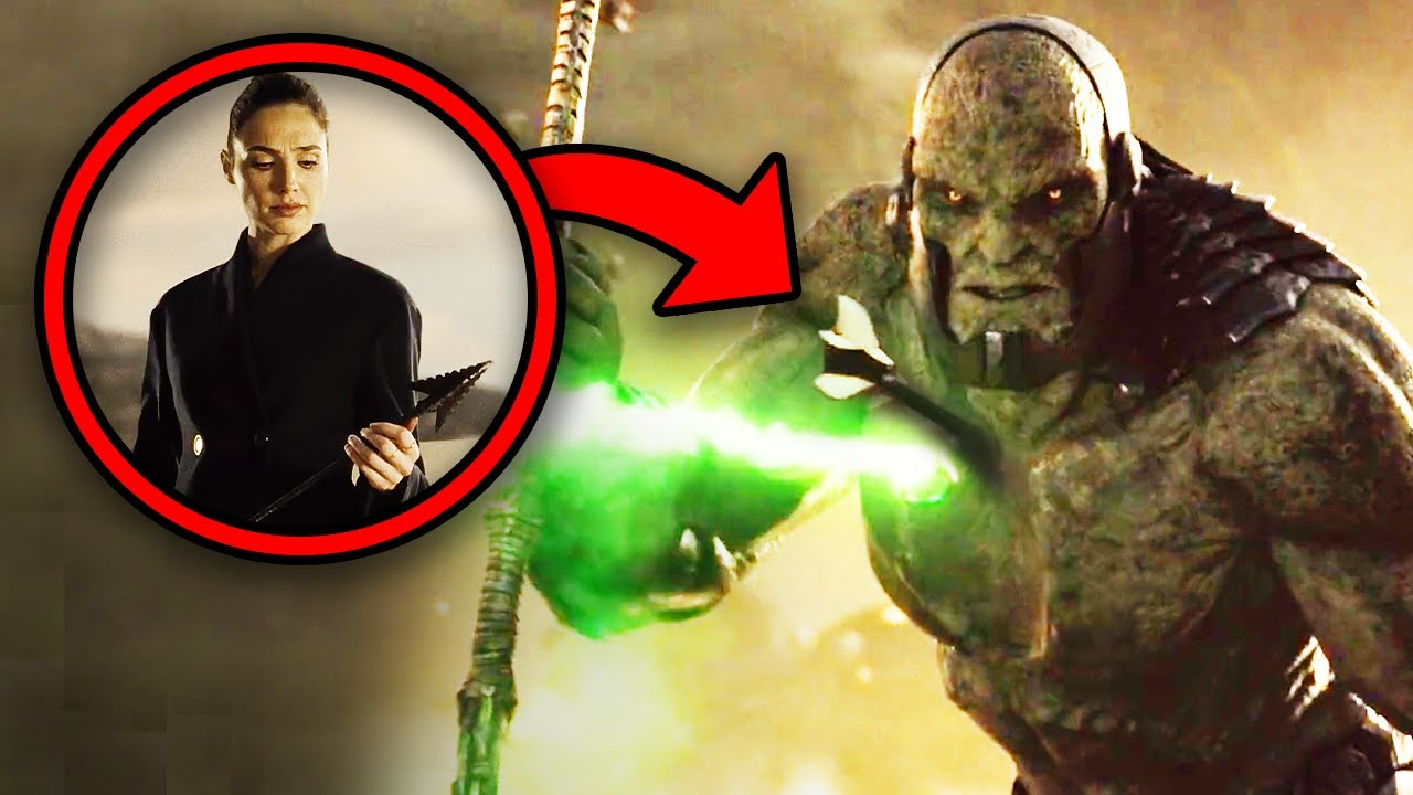 JUSTICE LEAGUE SNYDER CUT BREAKDOWN! Easter Eggs & Details You Missed!