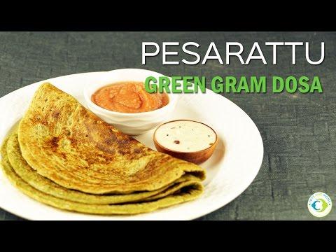 Pesarattu | No Ferment Green Gram Dosa | 8 months Protein Rich Baby Food Recipe