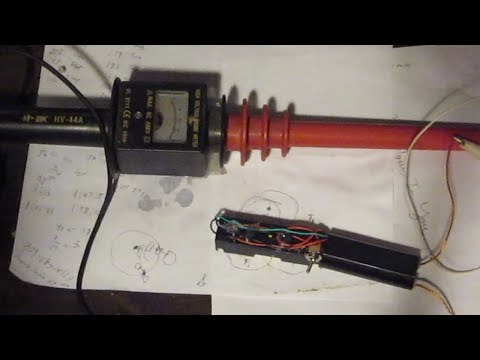 400,000 Volt Generator -Measuring the Real Voltage