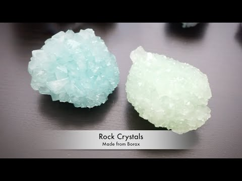 DIY Grow Large Crystals for Room Decor