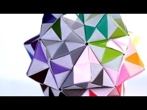 How to Make a Kusudama | Origami