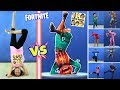 FORTNITE DANCE CHALLENGE in REAL LIFE All Dances