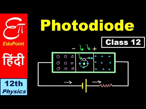 🔴 Photodiode || for Class 12 in Hindi