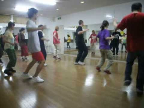Jor.G - House Dance workshop in Osaka