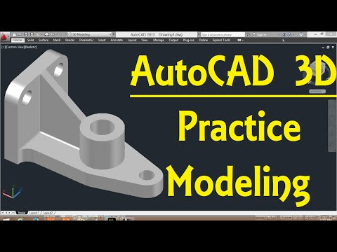 AutoCAD 3D modeling tutorial   AutoCAD 3D Modeling 24