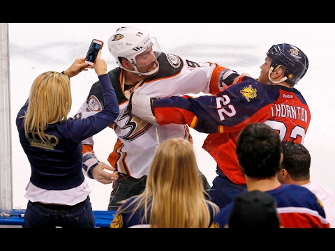 This is why fighting is allowed in pro hockey