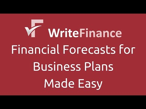 Introductory Lecture - Financial Forecasts for Business Plans Part 1 of 8