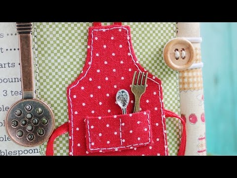 Make a Cute Cookbook Apron - DIY Crafts - Guidecentral