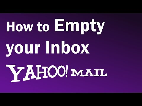 How To Delete All Emails From Yahoo Inbox   How to Empty Yahoo Inbox