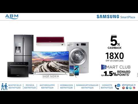 Exclusive Cashback, EMI & Reward points offers at Samsung Smart Plaza