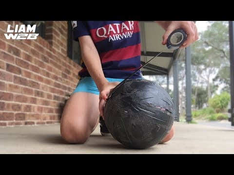 DUCT TAPE SOCCER BALL TRICK SHOTS !!!