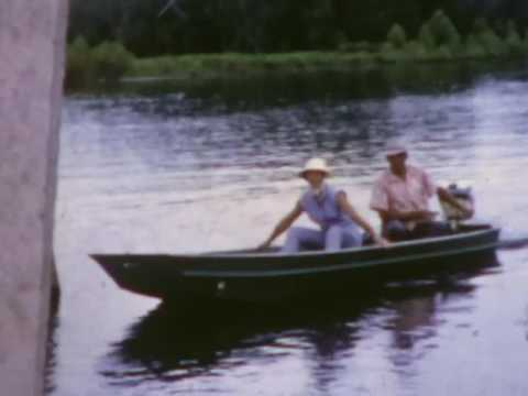 Louisiana Bayou Boat Ride 1962