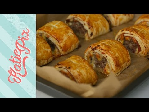 The Best Sausage Rolls Recipe EVER! | Katie Pix